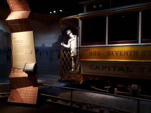 Raitiovaunu National Museum of American Historyssä-