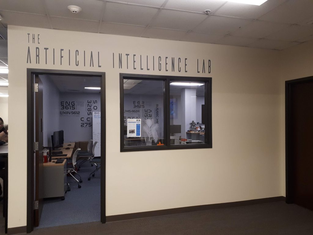 The Artificial Intelligence Lab Rhode Islandin yliopistolla.